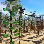 Elmer's Bottle Tree Ranch Like a Forest of Tranquility