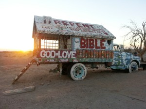 Other artwork at Salvation Mountain