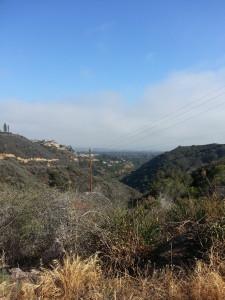 Views approaching Murphy's Ranch